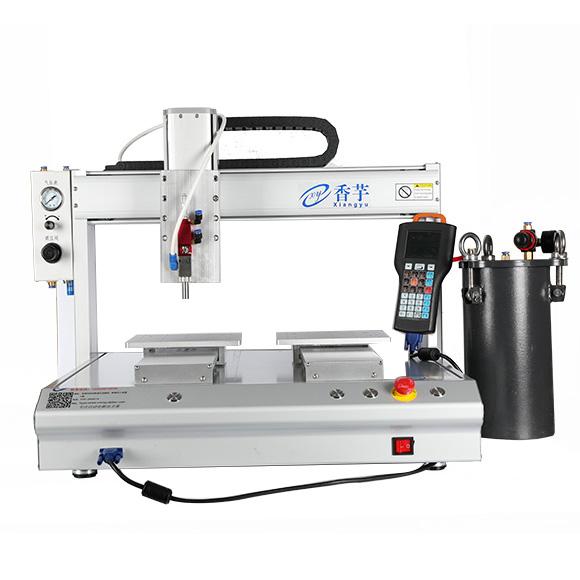 水性胶 三防漆 UV胶 油墨喷雾双Y四轴平台点胶机