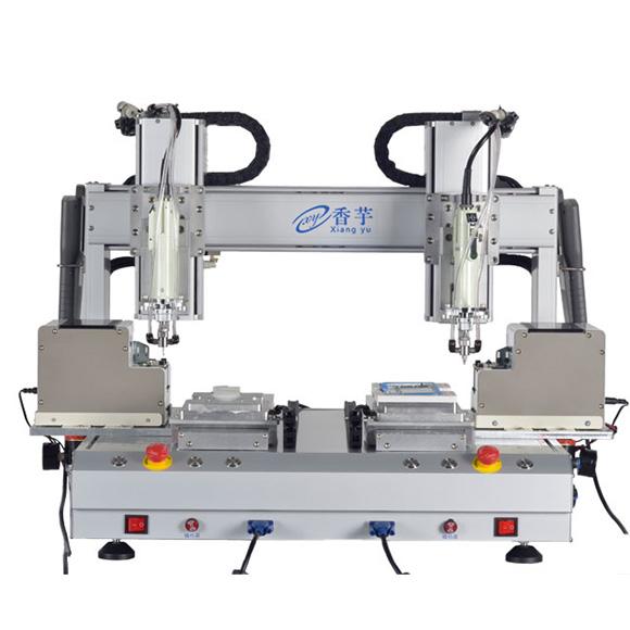 双平台6轴高速自动锁螺丝机