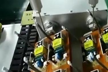 工件旋转双头硅胶