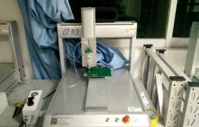 PCB板电子元器件涂硅胶-香芋机电