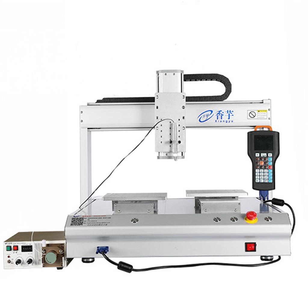 点胶机使用的材料和滴胶的解决方法