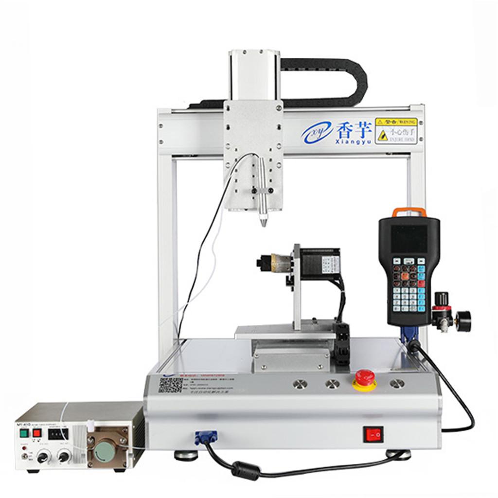 自动点胶机点胶过程中容易出现的工艺问题及解决办法